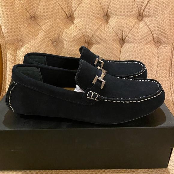 Alfani Shoes | Alfani Men Suede Driver
